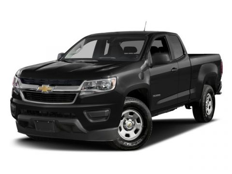 2017 Chevrolet Colorado Extended Cab 4x4 WT