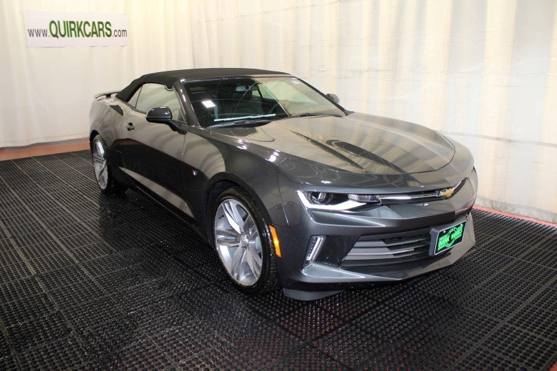 New 2018 Chevrolet Camaro Lt Convertible In Manchester