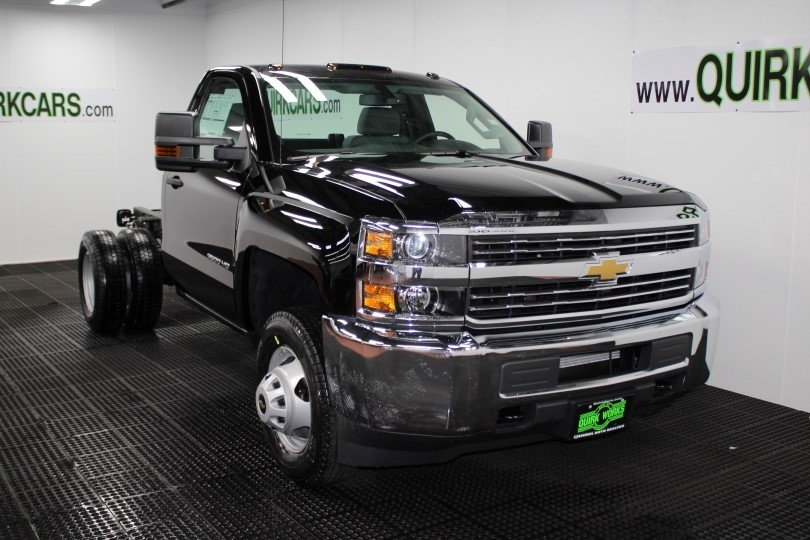 Chevy Cruze Ss >> New 2018 Chevrolet Silverado 3500HD Work Truck Regular Cab Chassis-Cab in Manchester #M27316 ...