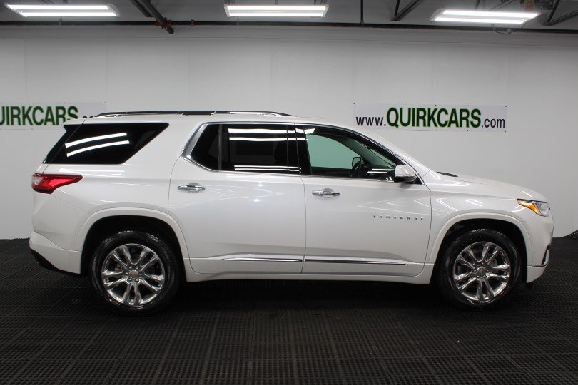 Used Chevy Equinox >> New 2018 Chevrolet Traverse High Country Sport Utility in Manchester #M27241 | Quirk Chevrolet ...