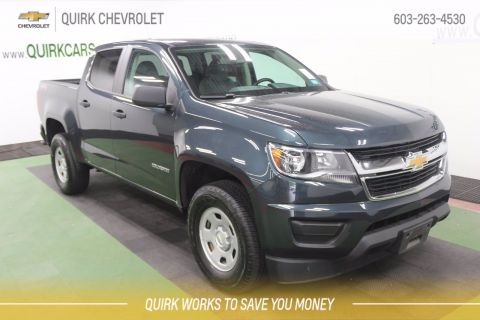 Certified Pre-Owned 2017 Chevrolet Colorado 4WD WT